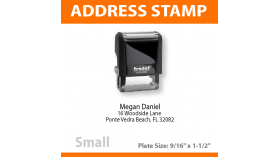 Return Address Stamp - SMALL