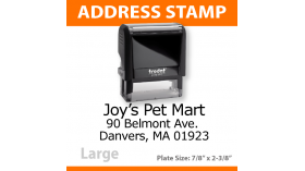 Return Address Stamp - LARGE