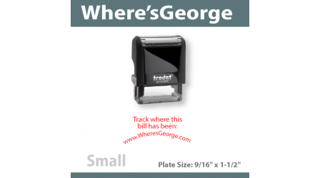 WheresGeorge Stamp