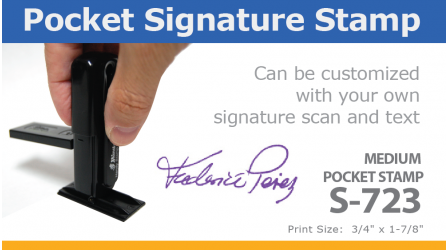 Pocket Signature Stamp