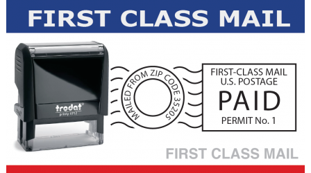 First Class Bulk Mail Stamp