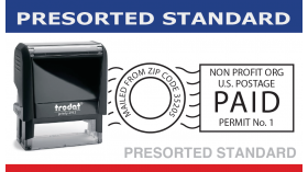 Presorted Standard Bulk Mail Stamp