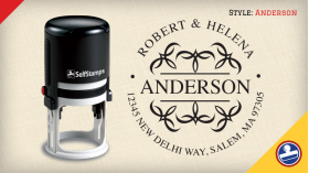 Anderson Return Address Stamps