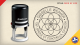 Seed of Life Return Address Stamps