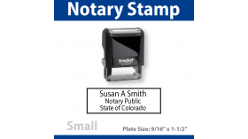 Notary Stamp - SMALL
