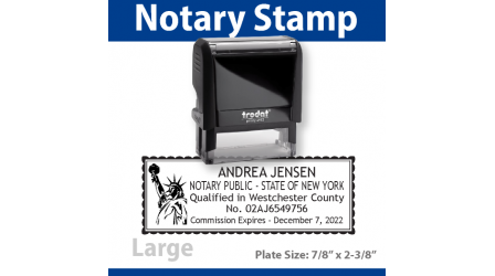Notary Stamp - LARGE