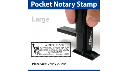 Pocket Notary Stamp - LARGE