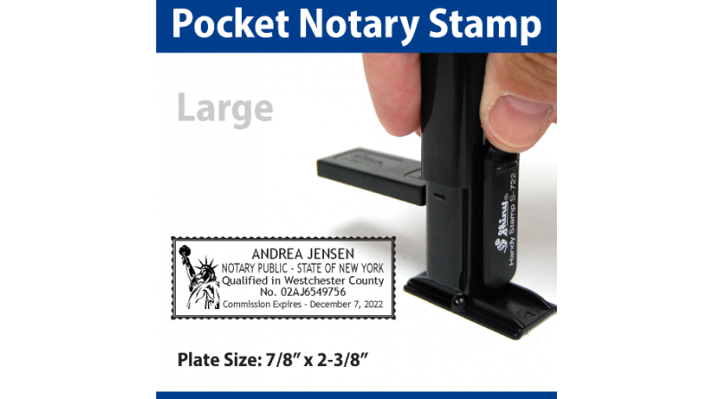 Office State Of Colorado L Rectangle Self Inking Notary
