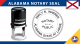 Alabama Notary Seal