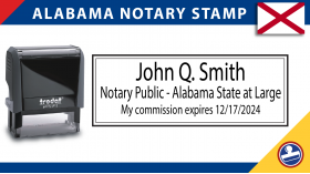 Alabama Notary Stamp