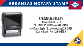 Arkansas Notary Stamp