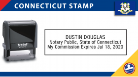 Connecticut Notary Stamp