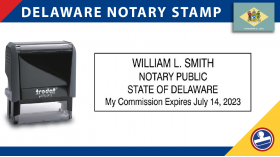 Delaware Notary Stamp
