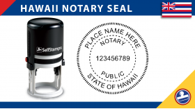 Hawaii Notary Seal