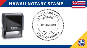 Hawaii Notary Stamp