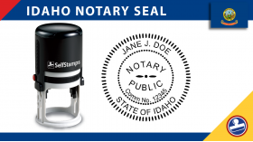 Idaho Notary Seal