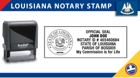 Louisiana Notary Stamp