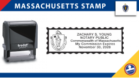 Massachusetts Notary Stamp