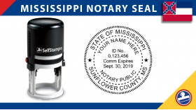 Mississippi Notary Seal