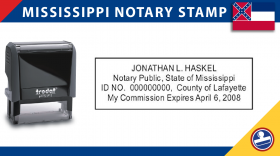 Mississippi Notary Stamp