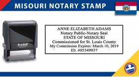 Missouri Notary Stamp