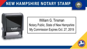 New Hampshire Notary Stamp