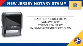New Jersey Notary Stamp