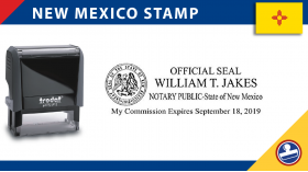 New Mexico Notary Stamp