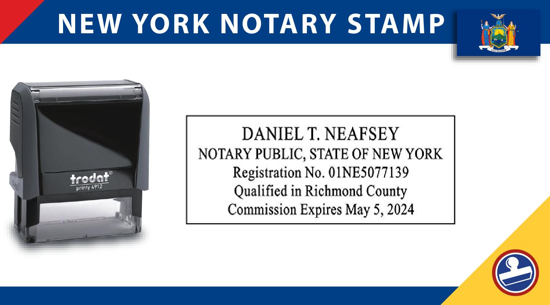 New York Notary Stamp