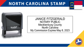 North Carolina Notary Stamp