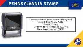 Pennsylvania Notary Stamp