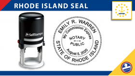 Rhode Island Notary Seal