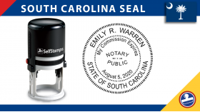 South Carolina Notary Seal