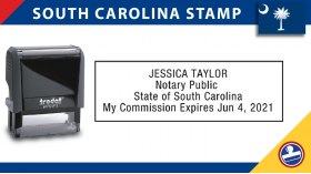 South Carolina Notary Stamp