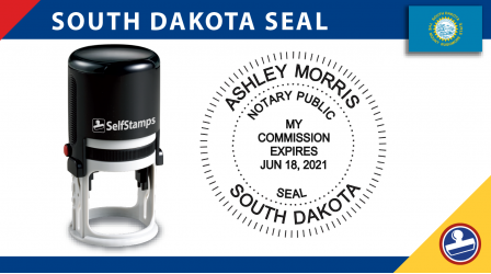 South Dakota Notary Seal