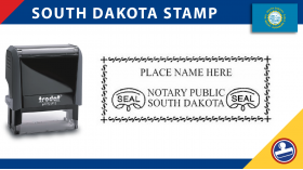 South Dakota Notary Stamp