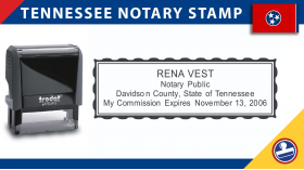 Tennessee Notary Stamp