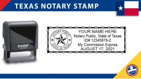 Texas Notary Stamp