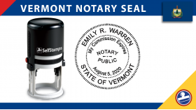 Vermont Notary Seal