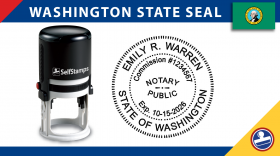 Washington Notary Seal
