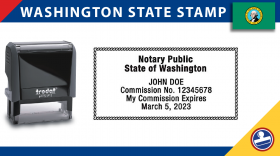 Washington Notary Stamp