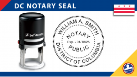 Washington DC Notary Seal