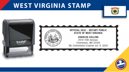 West Virginia Notary Stamp
