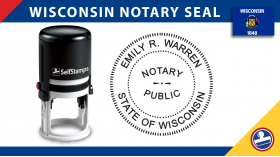 Wisconsin Notary Seal