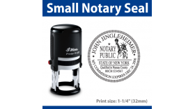 Notary Seal - SMALL