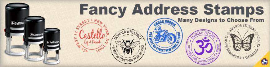 Fancy Address Stamps