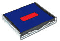 ink pad For Printy Dater 4724 (Blue/Red)