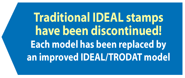 ideal stamps are being discontinued
