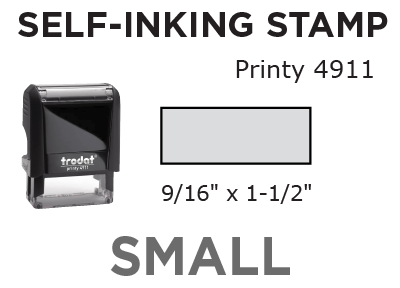 Small Self-Inking Stamp