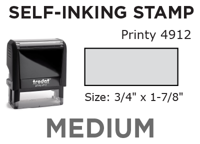 Medium Self-Inking Stamp